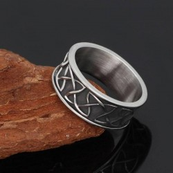Bague Viking Nœud Celtique