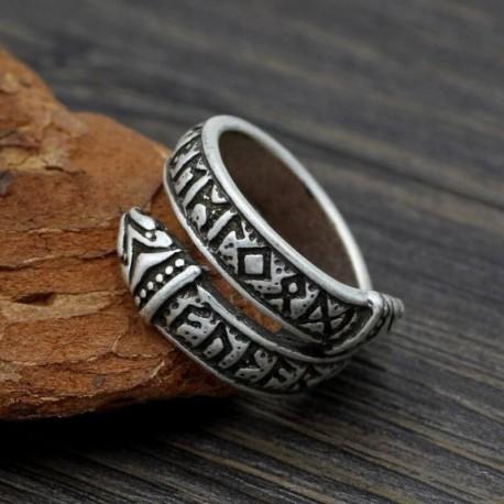 Bague Viking Ancien Futhark
