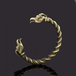 Bracelet Viking Torque Dragon