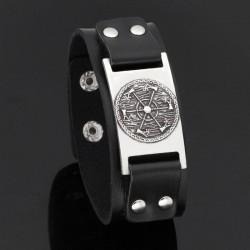 Bracelet Viking Bouclier & Hache