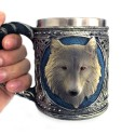 Chope Viking Tete de loup