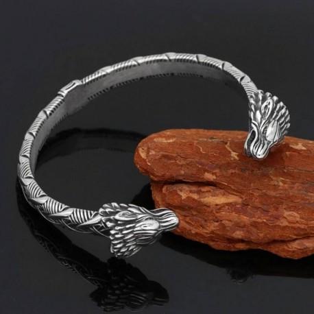 Bracelet Viking Draconique