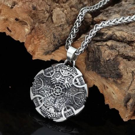 Collier Viking Aegishjalmur