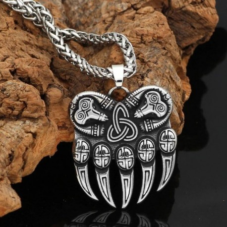 Collier Patte d'Ours