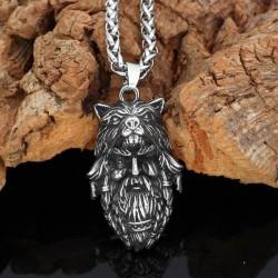 Collier Visage Odin