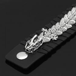 Bracelet Viking Écailles de Dragon