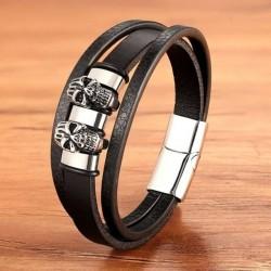 Bracelet Viking Tête de mort