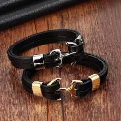 Bracelet vikings ancre