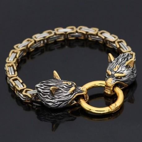 Bracelet Loup Sköll