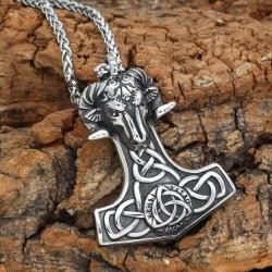 Collier Amulette Chèvre