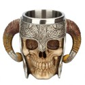 Chope crâne guerrier viking