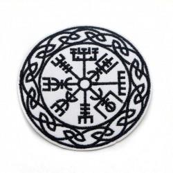 Écusson Boussole Compas Viking