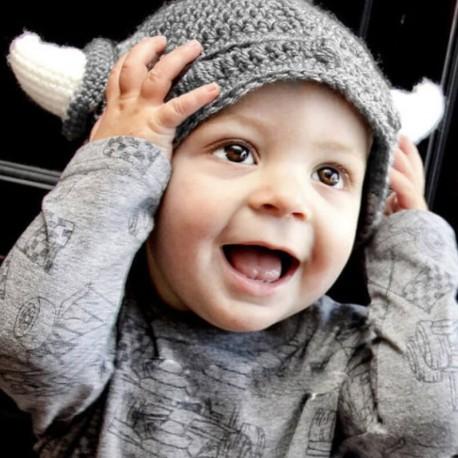 Bonnet viking enfant