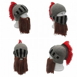 Bonnet casque viking