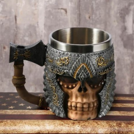 Tasse viking guerrier