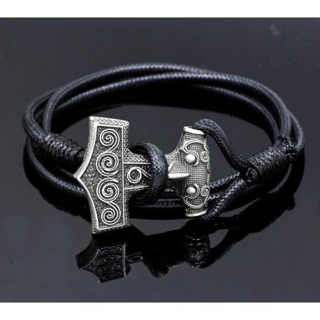 Bracelet Viking Mjolnir