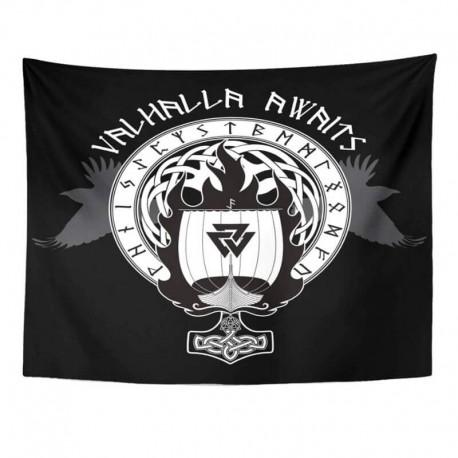Drapeau Viking Valhalla