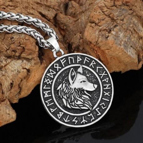 Collier Loup Nordique
