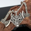 Collier Viking Loup