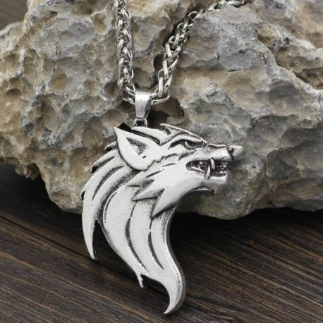 Pendentif Loup Viking