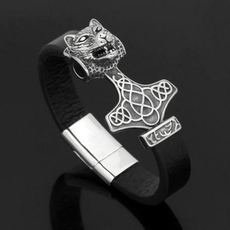 Bracelet Loup Sauvage