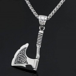 Collier haches viking
