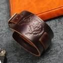 Bracelet  Cuir Loup